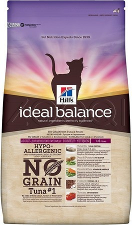Hill's IB Feline Adult No Grain With Tuna And Potato