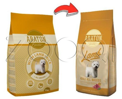 Araton Adult Lamb & Rice 3 кг
