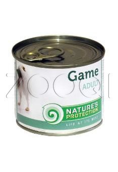 Nature's Protection Dog adult Game (Дичь) - 200 гр