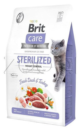 Brit Care Cat Daisy I've to control my Weight 2 кг