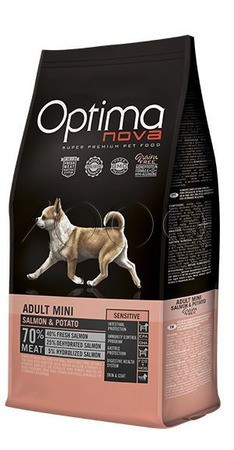 Optima Nova Adult Mini Sensitive Salmon&Potato