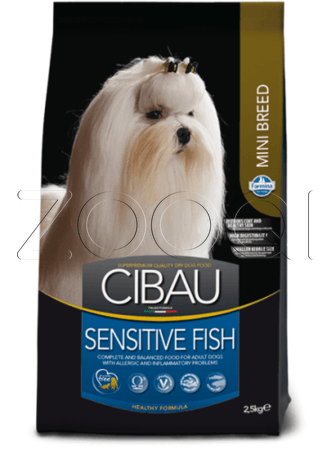 Farmina Cibau Sensitive Fish Mini (Рыба)