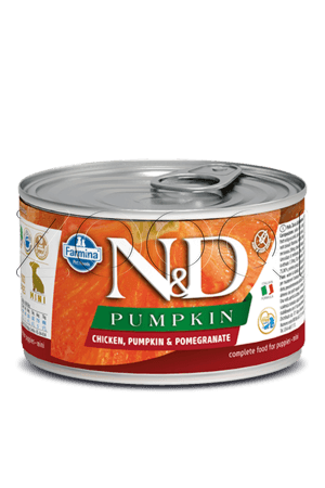 N&D Dog Chicken & Pumpkin & Pomegranate Puppy Mini