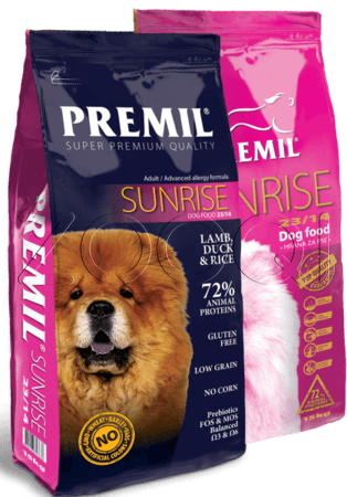 Корм Premil Sunrise SuperPremium
