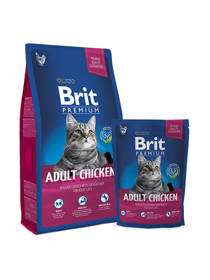 Brit Premium Cat Adult Chicken - 0,3 кг