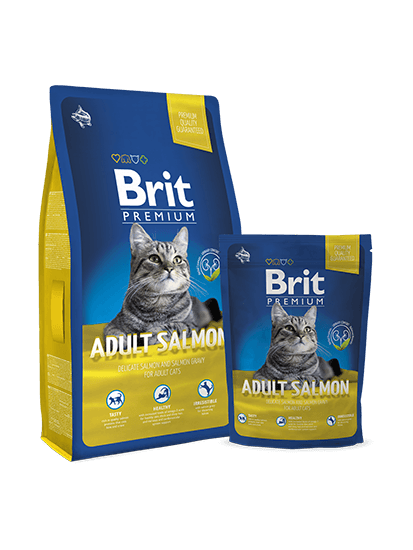 Brit Premium Cat Adult Salmon - 0,3 кг