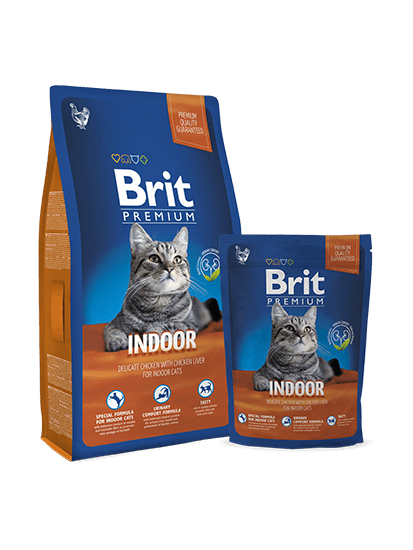 Brit Premium Cat Indoor - 0,3 кг