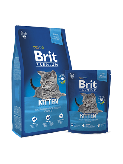 Brit Premium Cat Kitten - 0,3 кг