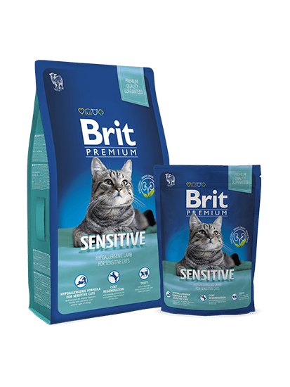 Brit Premium Cat Sensitive - 0,3 кг
