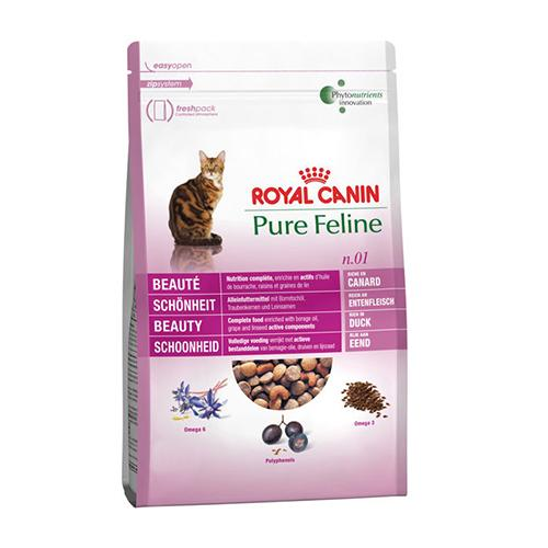 Корм Royal Canin Pure Feline Beauty (Утка) - 0,3 кг
