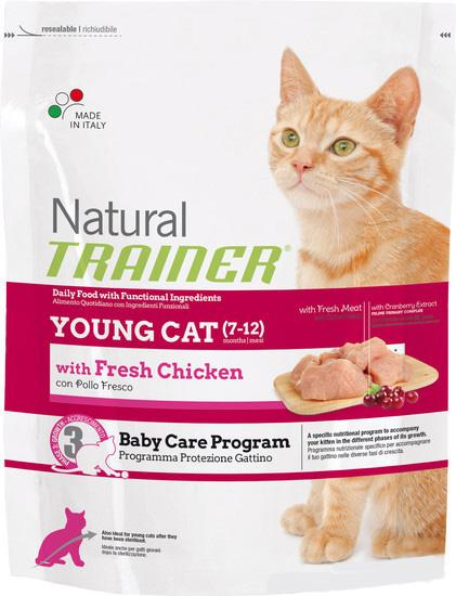 Trainer Natural Young Cat, 0,3 кг
