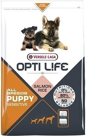 Opti Life Puppy Sensitive All Breeds - 12,5 кг