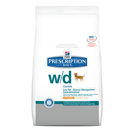 Hills Prescription Diet™ Canine w/d™ with Chicken - 1,5 кг