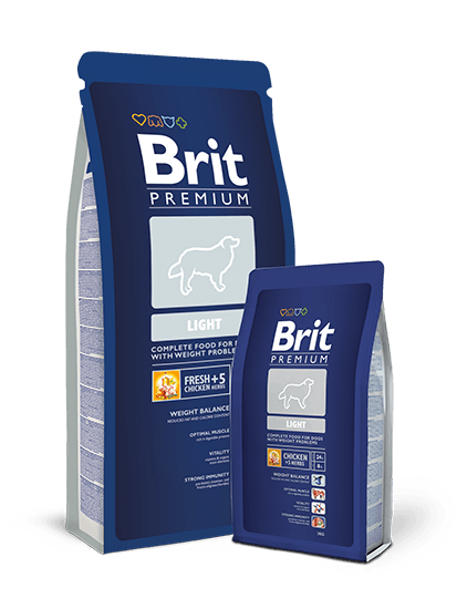 Brit Premium Light - 15 кг
