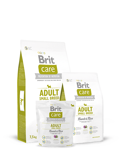Brit Care Adult Small Breed Lamb & Rice - 1 кг