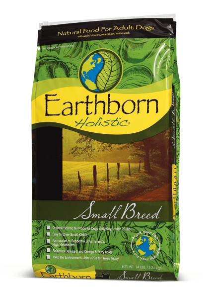 Earthborn Holistic Small Breed - 2,5 кг
