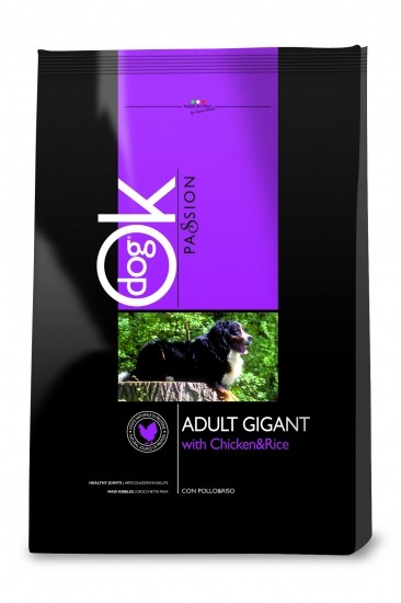 OK Passion Adult Gigant with Chicken&Rice (с курицей, рис) - 12,5 кг