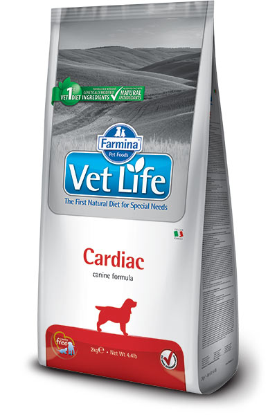 Farmina Vet Life Dog Cardiac - 2 кг