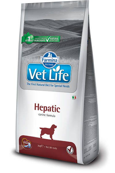 Farmina Vet Life Dog Hepatic - 2 кг