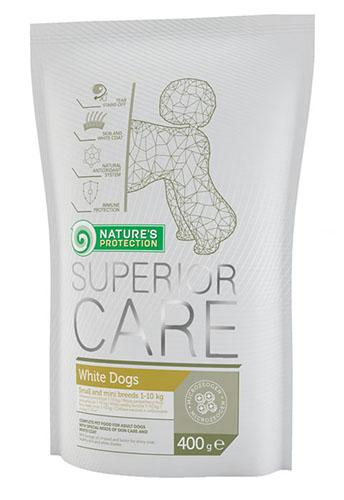 NP Superior Care White dog Small breed Adult - 0,4 кг