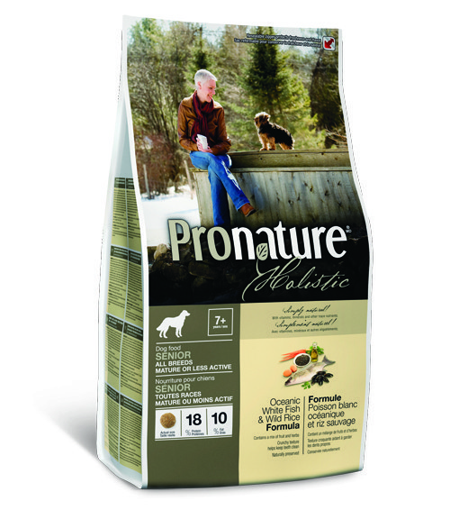 Pronature Holistic Senior or Less Active Ocean Fish & Wild Rice All Breed 2,72 кг